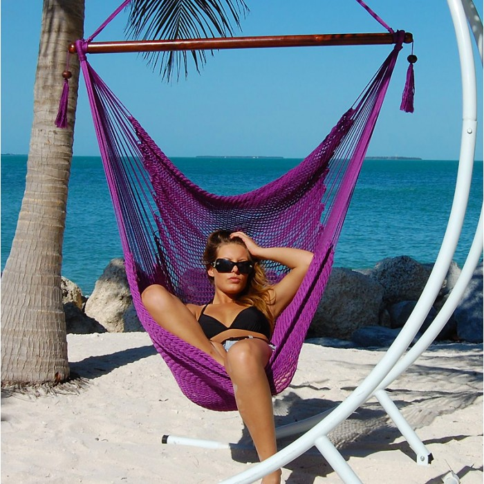 Etonnant CARIBBEAN HAMMOCKS CHAIR LARGE (Purple)   By The Caribbean Hammocks Store  Of USA