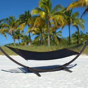 CARIBBEAN HAMMOCKS DOUBLE (Black) - By the caribbean hammocks store of USA