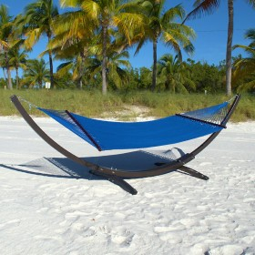 CARIBBEAN HAMMOCKS DOUBLE (Dark Blue) - By the caribbean hammocks store of USA