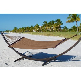 CARIBBEAN HAMMOCKS DOUBLE (Moka) - By the caribbean hammocks store of USA