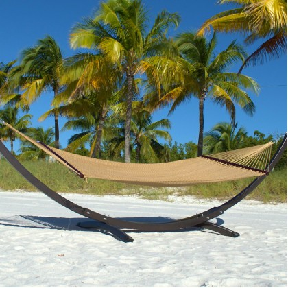 CARIBBEAN HAMMOCKS DOUBLE (Tan) - By the caribbean hammocks store of USA