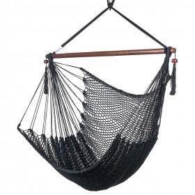 CARIBBEAN HAMMOCKS CHAIR REGULAR (Black) - By the caribbean hammocks store of USA