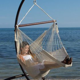 CARIBBEAN HAMMOCKS CHAIR BASIC (Cream) - By the caribbean hammocks store of USA