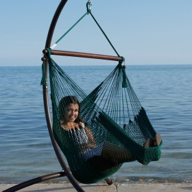 CARIBBEAN HAMMOCKS CHAIR BASIC (Green) - By the caribbean hammocks store of USA