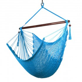 CARIBBEAN HAMMOCKS CHAIR REGULAR (Light Blue) - By the caribbean hammocks store of USA