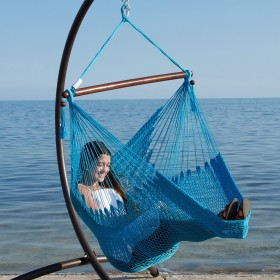 CARIBBEAN HAMMOCKS CHAIR BASIC (Light Blue) - By the caribbean hammocks store of USA