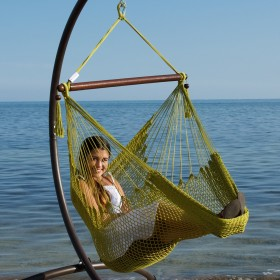 CARIBBEAN HAMMOCKS CHAIR BASIC (Olive) - By the caribbean hammocks store of USA