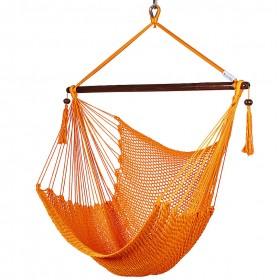 CARIBBEAN HAMMOCKS CHAIR REGULAR (Orange) - By the caribbean hammocks store of USA