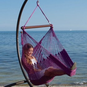 CARIBBEAN HAMMOCKS CHAIR BASIC (Purple) - By the caribbean hammocks store of USA