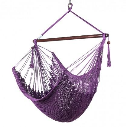 CARIBBEAN HAMMOCKS CHAIR REGULAR (Purple) - By the caribbean hammocks store of USA