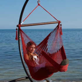 CARIBBEAN HAMMOCKS CHAIR BASIC (Red) - By the caribbean hammocks store of USA