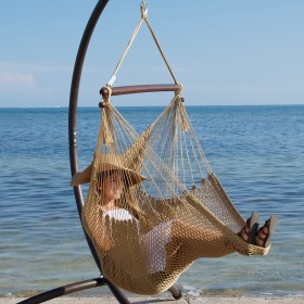 CARIBBEAN HAMMOCKS CHAIR BASIC (Tan) - By the caribbean hammocks store of USA