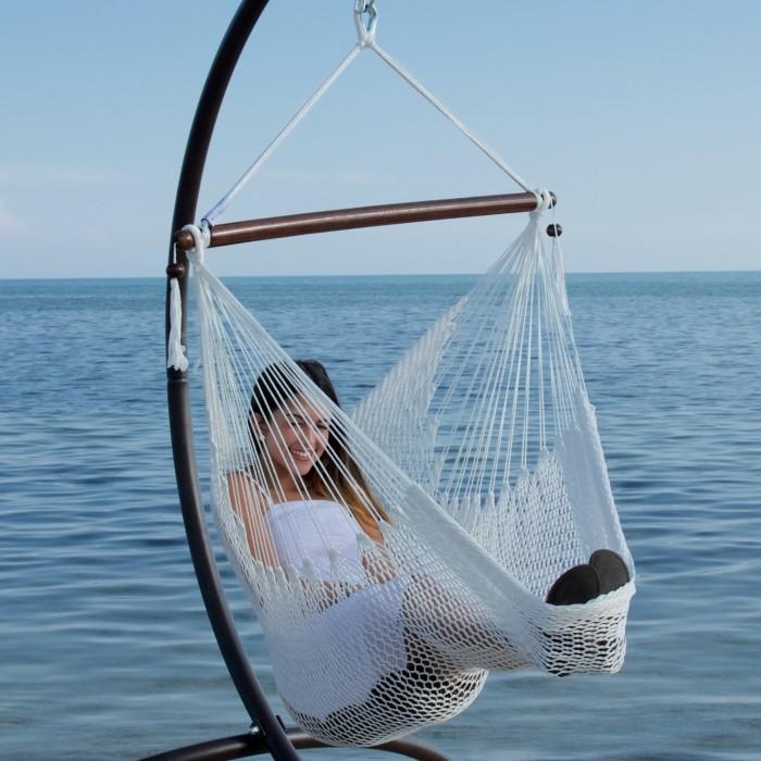 footrest inch hammock chair hammocks com dp with amazon caribbean soft ttw spun