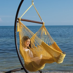CARIBBEAN HAMMOCKS CHAIR BASIC (Yellow) - By the caribbean hammocks store of USA