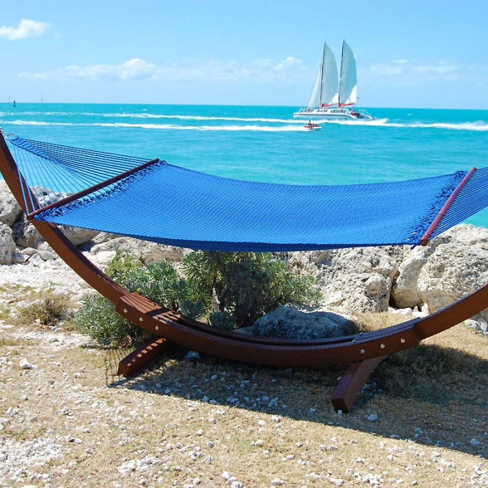 Caribbean Hammocks Jumbo Blue By The Caribbean