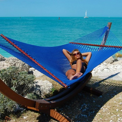 CARIBBEAN HAMMOCKS JUMBO (Blue) - By the caribbean hammocks store of USA