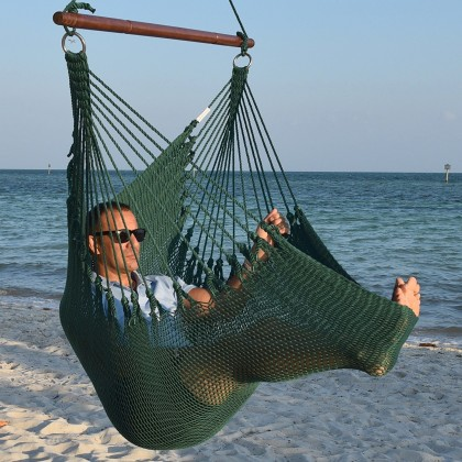 CARIBBEAN HAMMOCKS CHAIR JUMBO (Green) - By the caribbean hammocks store of USA