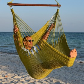 CARIBBEAN HAMMOCKS CHAIR JUMBO (Olive) - By the caribbean hammocks store of USA