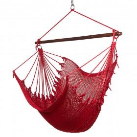 CARIBBEAN HAMMOCKS CHAIR JUMBO (Red) - By the caribbean hammocks store of USA