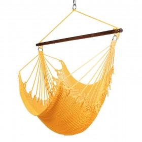 CARIBBEAN HAMMOCKS CHAIR JUMBO (Yellow) - By the caribbean hammocks store of USA