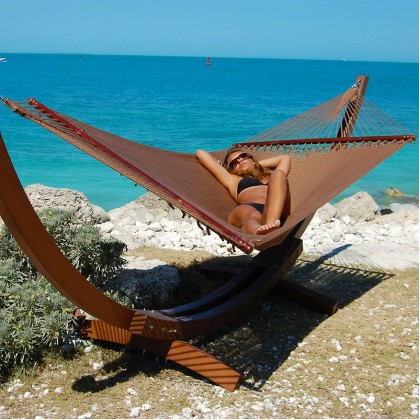 CARIBBEAN HAMMOCKS JUMBO (Mocha) - By the caribbean hammocks store of USA