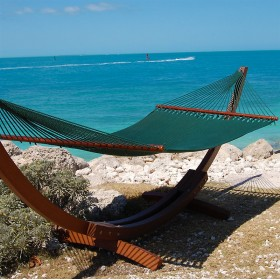 CARIBBEAN HAMMOCKS JUMBO (Green) - By the caribbean hammocks store of USA