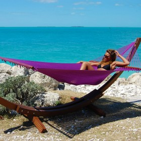 CARIBBEAN HAMMOCKS JUMBO (Purple) - By the caribbean hammocks store of USA