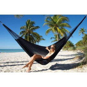MAYAN CARIBBEAN HAMMOCK (Black) - By the caribbean hammocks store of USA