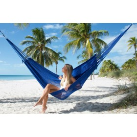 MAYAN CARIBBEAN HAMMOCK (Blue) - By the caribbean hammocks store of USA