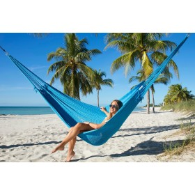 MAYAN CARIBBEAN HAMMOCK (Light Blue) - By the caribbean hammocks store of USA