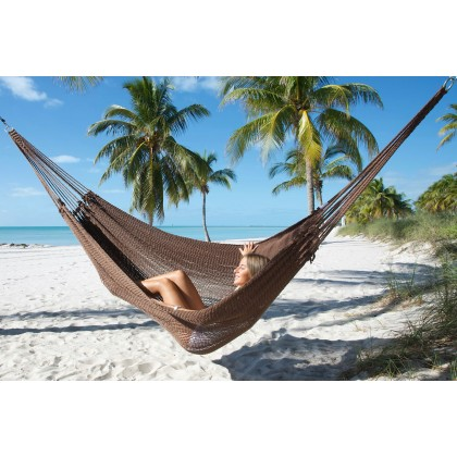 MAYAN CARIBBEAN HAMMOCK (Mocha) - By the caribbean hammocks store of USA