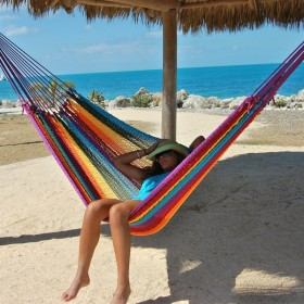 MAYAN CARIBBEAN HAMMOCK (Multicolor) - By the caribbean hammocks store of USA