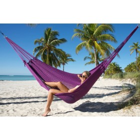 MAYAN CARIBBEAN HAMMOCK (Purple) - By the caribbean hammocks store of USA