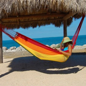 MAYAN CARIBBEAN HAMMOCK (Rainbow) - By the caribbean hammocks store of USA