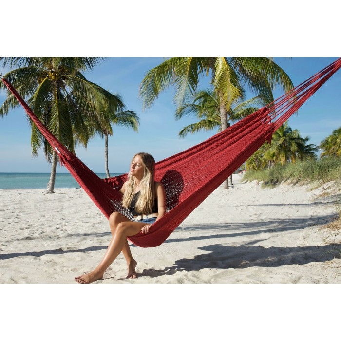 mayan caribbean hammock  red    by the caribbean hammocks store of usa caribbean hammock  red    by the caribbean hammocks store of usa  rh   hammock usa