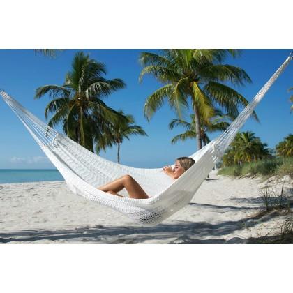 MAYAN CARIBBEAN HAMMOCK (WHITE) - By the caribbean hammocks store of USA