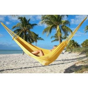 MAYAN CARIBBEAN HAMMOCK (Yellow) - By the caribbean hammocks store of USA