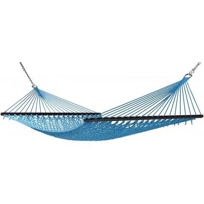 Caribbean Hammocks Classic Rope (Light Blue) - By the caribbean hammocks store of USA