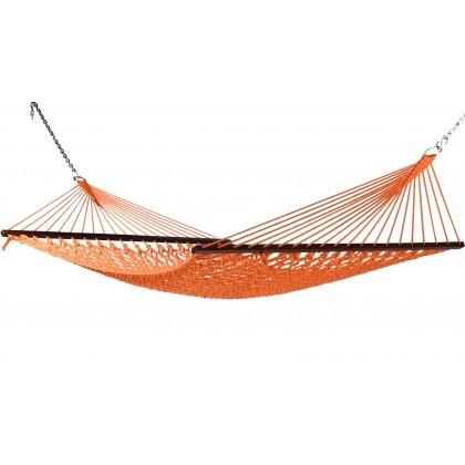 Caribbean Hammocks Classic Rope (Orange) - By the caribbean hammocks store of USA