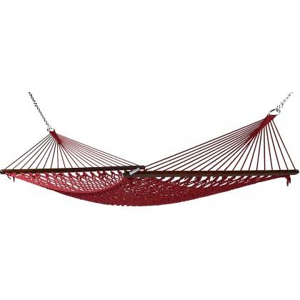 Caribbean Hammocks Classic Rope (Red) - By the caribbean hammocks store of USA