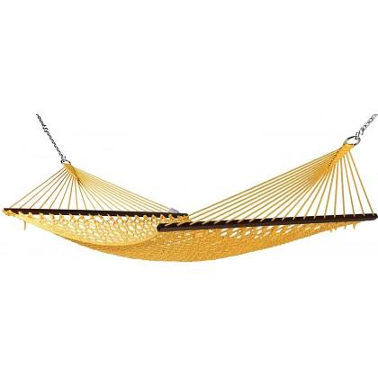 Caribbean Hammocks Classic Rope (Yellow) - By the caribbean hammocks store of USA