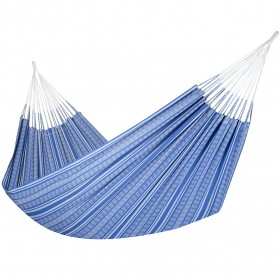 Colombian Hammock Jumbo - Blue & Grey