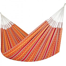 Colombian Hammock Jumbo - Red & Orange