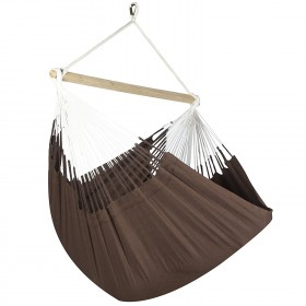 Colombian Hammock Chair Lounger - Cocoa