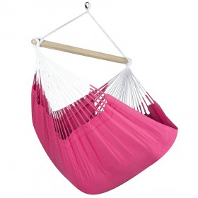 Colombian Hammock Chair Lounger - Hot Pink
