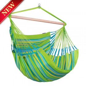 Hammock Chair Kingsize ( Domingo Lime ) - By the caribbean hammocks store of USA